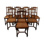 EuroLux Home - Set 8 Consigned Antique French Dining Chairs Louis - Product Details
