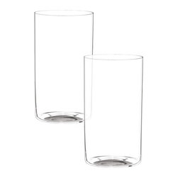 Riedel - Riedel O Long Drink Glasses - Set of 2 - Practical and fashionable, these lightweight glasses are perfect for Beer or a long cooling drink. non lead, machine made.