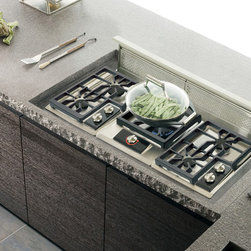 """Wolf 45"""" Cooktop Downdrafts Stainless Steel 