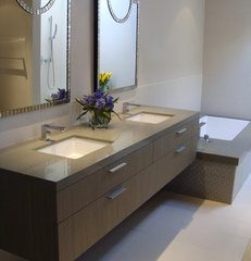 contemporary bathroom by lori sitz teacher