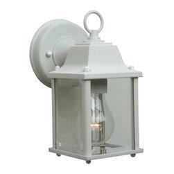 Craftmade - Craftmade Z192 Coach Lights Outdoor 1 Light Wall Sconce - Lamping Technology: