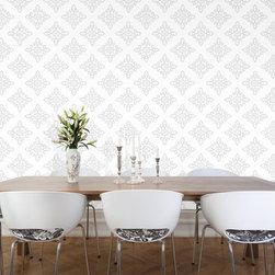 Carly - Moroccan Lattice Wallpaper 10601 - Material: PVC