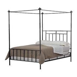 Umbria Low Foot Canopy Bed