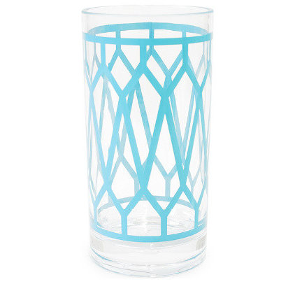 contemporary glassware by Jonathan Adler
