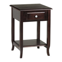 Office Star - Office Star Accent Table in Merlot - Office Star - Accent Tables - ME17 - OSP Designs Accent Table