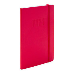 Pops Medium Notebook, Red - Father's not the only one who knows best.