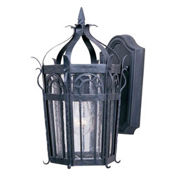 Maxim Lighting - Maxim Lighting 30041CDCF Cathedral Country Forge Outdoor Wall Sconce - 1 Bulb, Bulb Type: 100 Watt Incandescent