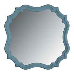 Stanley Furniture - Coastal Living Cottage-Piecrust Mirror - Like your Nana's old world piecrust, this beveled edge, cornice cut mirror improves everything around it.