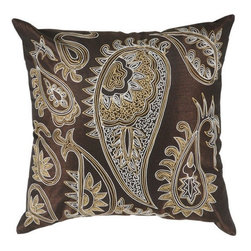 Rizzy Home - Brown and White Decorative Accent Pillows (Set of 2) - T03066 - Set of 2 Pillows.