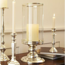 traditional candles and candle holders Silver-plated Hurricane