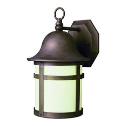 """Trans Globe Lighting - Trans Globe Lighting PL-4581 WB ES Pub 16"""" Outdoor Wall Light Bronze - A strapping outdoor landscape wall light with curved bell cap and top ring. Looks great in English outdoor gardens, equestrian areas, or traditional paths. Uses GU24"""