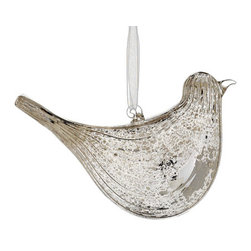 Silk Plants Direct - Silk Plants Direct Mercury Glass Swirl Bird Ornaments, Pack of 6 - Pack of 6. Silk Plants Direct specializes in manufacturing, design and supply of the most life-like, premium quality artificial plants, trees, flowers, arrangements, topiaries and containers for home, office and commercial use. Our Mercury Glass Swirl Bird Ornament includes the following: