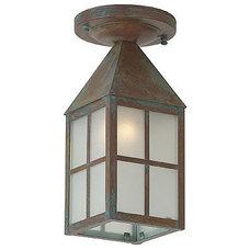 Traditional Outdoor Flush-mount Ceiling Lighting by brasslight.com