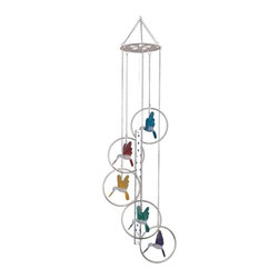 GSC - Wind Chime 5-Ring Charm Hummingbird Musical Hanging Garden Decoration - This gorgeous Wind Chime 5-Ring Charm Hummingbird Musical Hanging Garden Decoration has the finest details and highest quality you will find anywhere! Wind Chime 5-Ring Charm Hummingbird Musical Hanging Garden Decoration is truly remarkable.