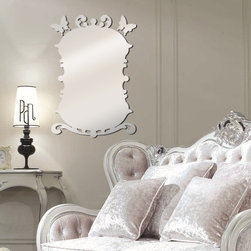 home design - Use these mirror stickers to add style and pizazz to your room. Stylish. sturdy, and functional, they are great for any room.