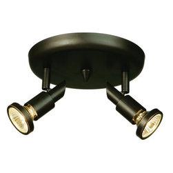 Artcraft Lighting - Artcraft Lighting AC5832 Shuttle 2 Light Canopy Track Kit - Features: