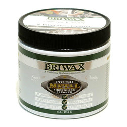 "Briwax International - Briwax Metal Polishing Compound & Fiberglass Cleaner, 1 Lb - Briwax Metal Polishing Compound, Surface Restorer & Fiberglass Cleaner cleans, polishes, restores and protects most metal surfaces and works wonders on fiberglass finishes and most acrylics. Not recommended for plated metals. You should always test the product on an inconspicuous area before applying it to the entire surface. Removes scratches, verdigris and discoloration due to oxidation. Removes corrosion from silver, brass, copper, bronze and other metal objects and restores them to a ""like-new"" quality."