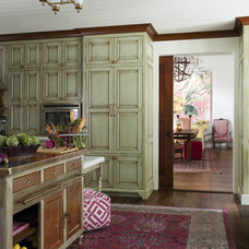 Eclectic Kitchen by Liz Caan Interiors LLC
