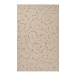 Surya - Surya SUR-BRT2921 Bristol Loomed Wool Rug - Through the use of the freshest colors in the home fashion world, we have update a classic.  Surya's Bristol Collection is comprised of solid, tone on tone rugs with carved details.  This magnificent grouping of casual colors and textures will integrate s