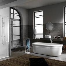 Modern Bathroom by Porcelanosa USA