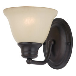 Maxim Lighting - Maxim Lighting 2686Wsoi Malaga 1-Light Wall Sconce - Maxim Lighting 2686WSOI Malaga 1-Light Wall Sconce