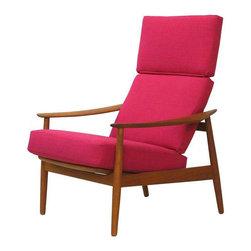 Danish Teak Lounge Chair Arne Vodder France & Son - $4,000 Est. Retail - $2,000 -