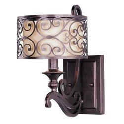 Maxim Lighting - Maxim Lighting 211WHUB Mondrian 1-Light Wall Sconce In Umber Bronze - Features