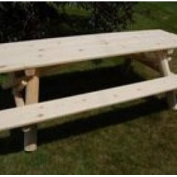 Moon Valley 8-inch Picnic Table Kit - 8' Picnic Table Kit