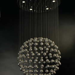 Trend Lighting - Trend Lighting TP9505 Constellation 5 Light Chandeliers in Polished Stainless St - Constellation Medium Decorative Pendant