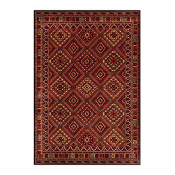 """Couristan - Cire` Palmer Rug 1387/7272 - 2'1"""" x 3'7"""" - True works of art for your floor, these area rugs are designed to adorn traditional stylings, as well as contemporary. Use a secondary color found in the palette of the area rug as inspiration for wall paint and add throw pillows with similar textures, to add a designer flair."""
