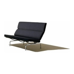 Herman Miller - Eames® Sofa Compact | Herman Miller - Design by Charles & Ray Eames, 1954.