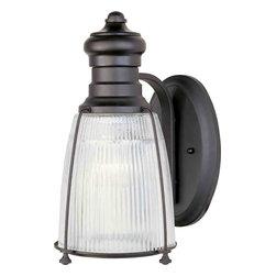 Maxim Lighting - Maxim Lighting 25007CLBZ Hi-Bay Bronze Wall Sconce - 1 Bulb, Bulb Type: 100 Watt Incandescent