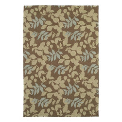 "Kaleen Rugs Inc. - Home And Porch 7'9"" x 7'9"" Round Transitional - Home & Porch Wymberly 2001-51-Coffee 7.9 x 7.9"