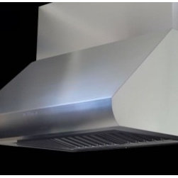 """Sirius - Professional Series SUTC35 48""""  Wall Mounted Range Hood With 1200 CFM  66 dBA  5 - Whether you are cooking dinner for your small family or trying to please hundreds in a crowded restaurant this is the perfect range hood for your kitchen The powerful 1200 CFM dual motor works hard to clear the air of smoke and unpleasant cooking odo..."""