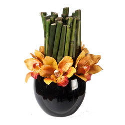 Creative Branch - Bamboo and Orchids - Quality Product