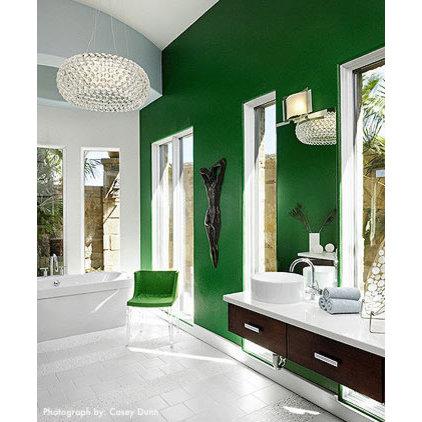 modern bathroom by Laura Britt Design