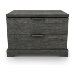 Huppe - Huppe | Union 2 Drawer Night Table - Design by Joel Dupras.