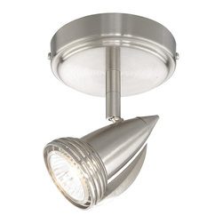 Vaxcel - Vaxcel SP34112SN 1-Light Spot Light Satin Nickel - Vaxcel SP34112SN 1-Light Spot Light Satin Nickel