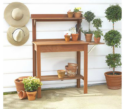 traditional outdoor planters by World Market