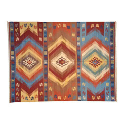 1800-Get-A-Rug - Reversible Flat Weave Anatolian Kilim Hand Woven Oriental Rug Sh6949 - About Flat Weave