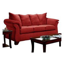 Chelsea Home Furniture - Chelsea Home Payton Sofa in Red Brick - Payton Sofa in red Brick belongs to Verona IV collection by Chelsea Home Furniture.