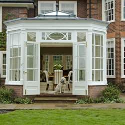 Dining Room Orangery Exterior - Photo by James Licata