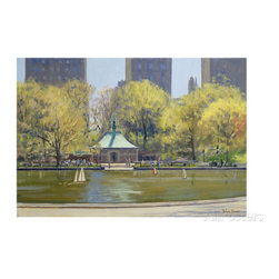 The Boating Lake, Central Park, New York, 1997 -