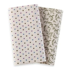 Seasons - The Seasons  Flannel Pillowcases (Set of 2) - This flannel pillowcase pair has a supremely soft hand that will keep you warm all season long. It features bold patterning that will bring a smart touch of style to your favorite bedding ensemble.