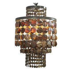 NOIR - NOIR Furniture - Lauren Chandelier - LAMP421 - Features: