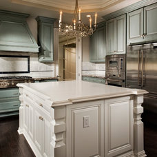 Traditional Kitchen by Melinda Mandell