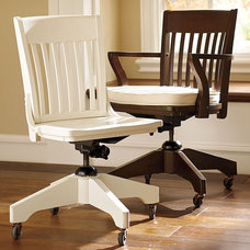 Traditional Office Chairs by Pottery Barn