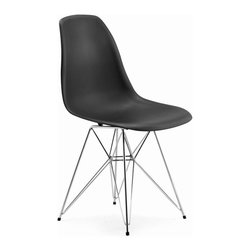 ZUO Modern - Spire Dining Chair in Black - 188040 - Spire Collection Dining Chair