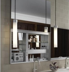 modern bathroom mirrors by Quality Bath