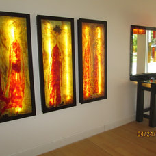 Modern Artwork by Galilee Lighting